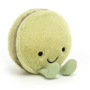 Amuseable Macaron Pistacie, 10 cm