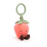 Amuseable Jordbær, jitter 13 cm
