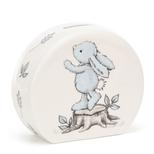 Bashful Kanin sparebøsse, lyseblå