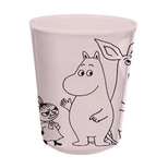 Mumi lyserød kop