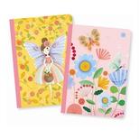 Lovely Paper notesbøger lille, Rose