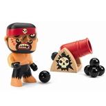 Arty Toys, pirat Rick & Boumcrack kanon