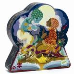 Silhuetpuslespil, Aladdin 24 brikker
