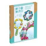 DIY - Lav et spejl, mosaik - Smukke blomster