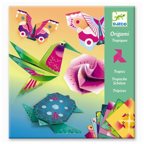 Kreativ origami, Troperne