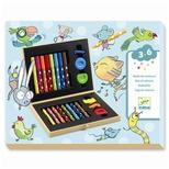 Kreativ for de små, tegnekuffert