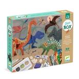 Kreativt aktivitetsæt, Dinosaurer