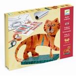 Kreativ skulptur, Tiger