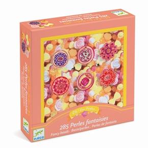 Kreativ perler - Plastperler, blomster