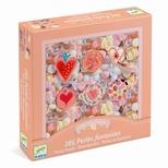 Kreativ perler - Plastperler, hjerter