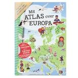 Aktivitetsbog med stickers, Europa