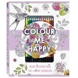 Malebog, Color me happy m/ farveblyanter