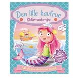 Aktivitetsbog med stickers, Den lille havfrue