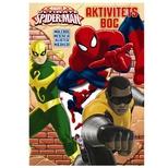 Aktivitetsbog med stickers, Spiderman