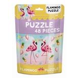 Puslespil i pose, Flamingo 48 brikker