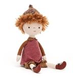 Jelly dukke, Abrikos, 30 cm