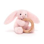 Bashful kanin lyserød, m/træring