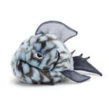 Grumpy Fisk blå, 22 cm