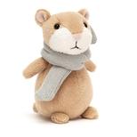 Happy Cinnamon hamster, mini 12 cm
