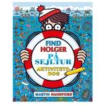 Find Holger - På sejltur, aktivitetsbog