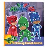 PJ Masks - Gekko og Lionel-saurus (lille papbog)