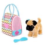 Pucci hund i taske, zig zag