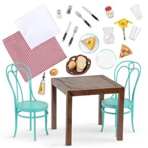 OG Stole og bord sæt, Pizzaria