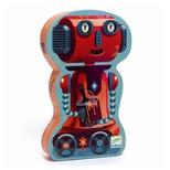 Silhuetpuslespil, Robot - 36 brikker