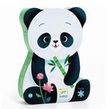 Silhuetpuslespil, Panda - 24 brikker