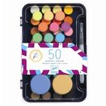 Vandfarver - 50 farver