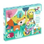 Kreativ collage, dyr