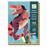 Kreativæske - Foliebilleder, Dinosaurus