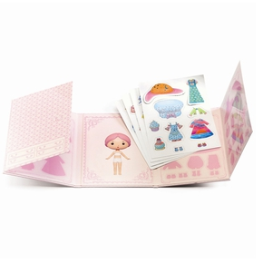 Tinyly, Miss Lilypink - flytbare stickers
