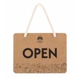 Open/Close Sign - English 11 x 14cm